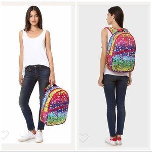 Zara Terez New York Backpack Rainbow emoji print